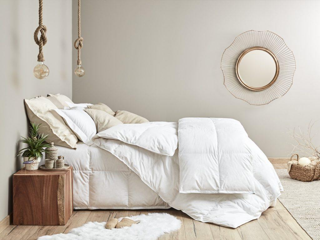 La ropa de cama