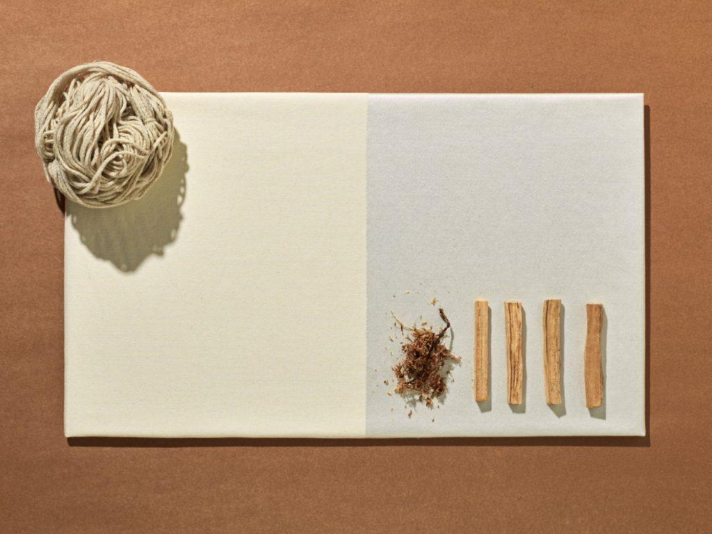 Tejido de lana, viscosa y algodón