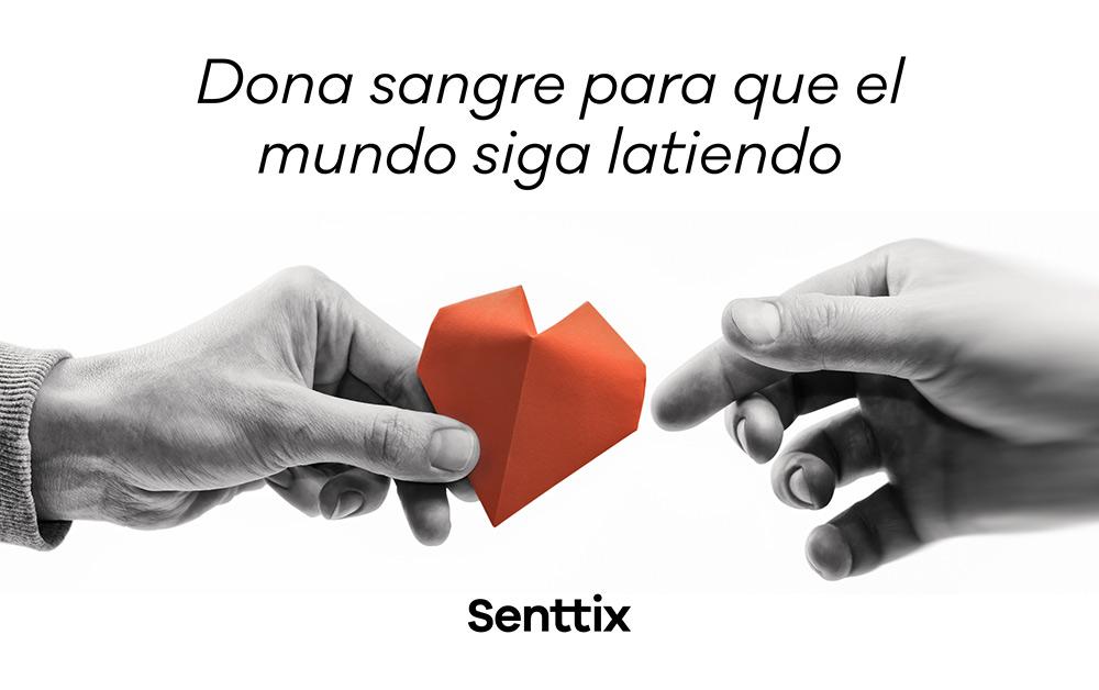 III Campaña donación de sangre en Senttix
